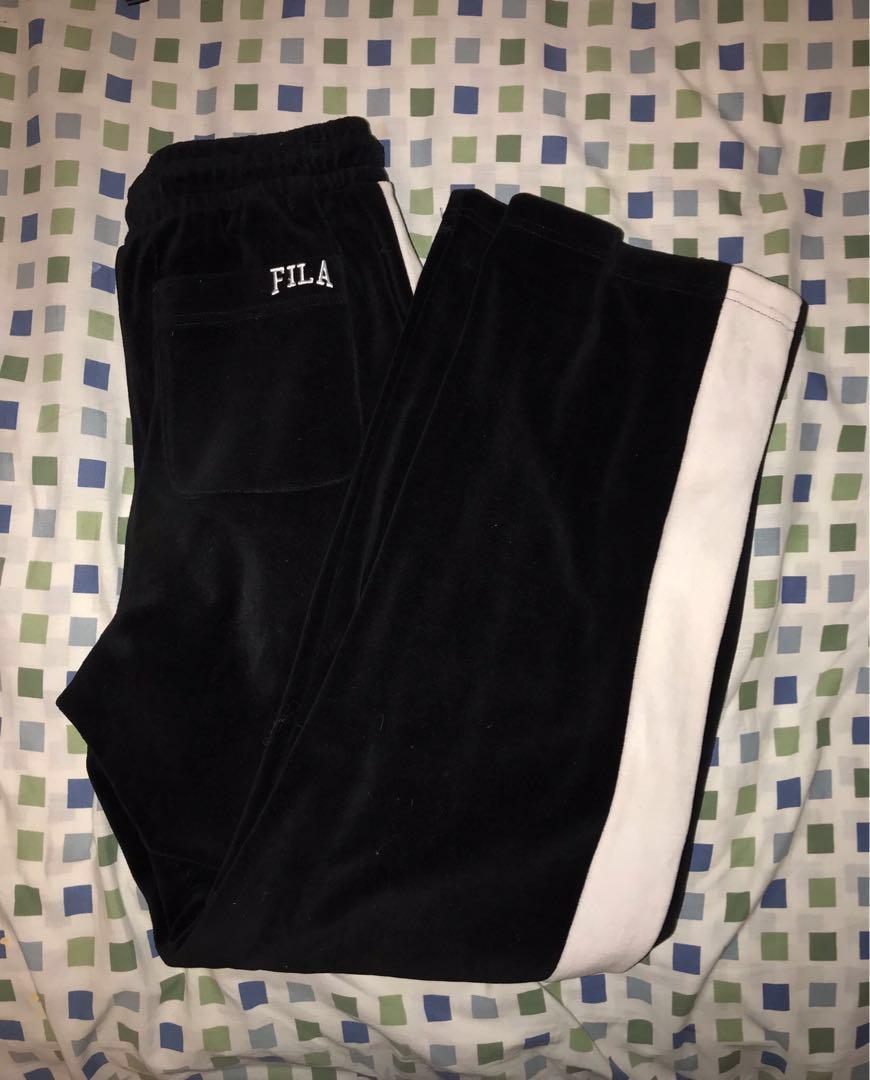 Velvet Fila Pants