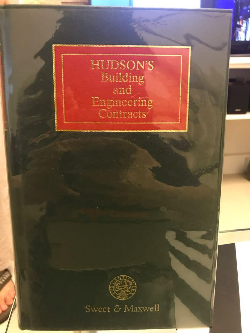 Volumn I and II Hudson's building and engineering contracts By Sweet & Maxwell
