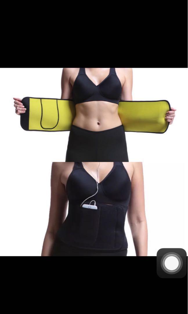 814ee53b603 Adjustable Belly Belt Waist Trainer Corset Support Fitness Belt ...