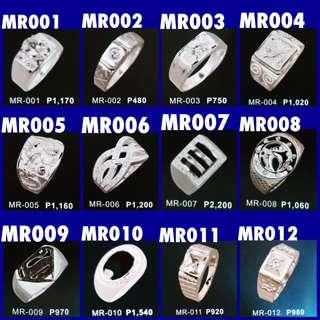 Silver 925 Men's Ring -PM me your ring size and chosen design