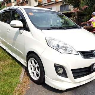 2014 Perodua alza Se auto , REVERSE camera, navigation