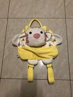 Yellow kitty cat backpack