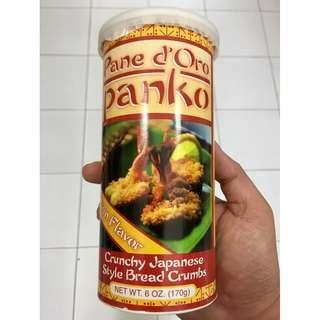 Pane d'Oro Panko Japanese bread crumbs plain 170g
