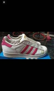 Adidas Superstars woman pink white
