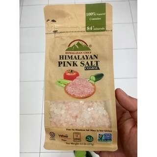 Himalayan Chef 5441 Pink Salt Coarse 0.5lb kosher Halal vegan