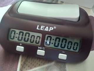leap digital chess timer AA battery operated