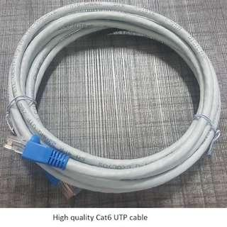 Lot of 50 units High-quality Cat 6 3 metre patch cable