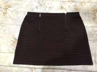 New Look - Chevron Skirt