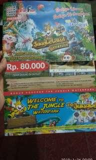 Jungleland tiket diskon