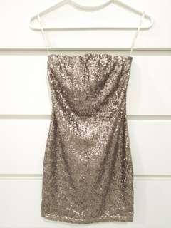 Sexy Sequin Mini Dress