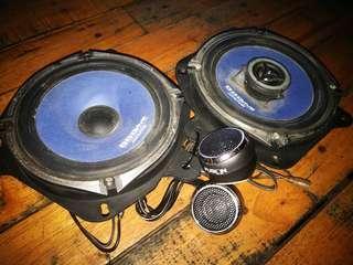 Alpine Speaker + Tweeter Set