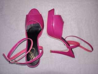 Heels pink yongki new