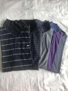 Assorted Men's Polo Shirts (Used)