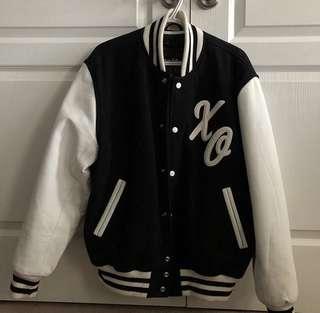 Stewart & Strauss XO Varsity Jacket