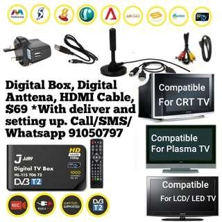 Digital HD Local Channel TV Box