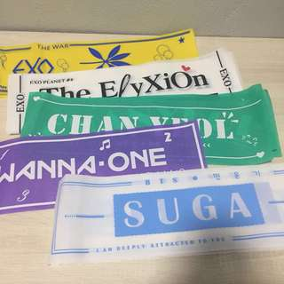 Kpop Hand Banner Slogan Exo Bts Wanna One | MY Pricerst com