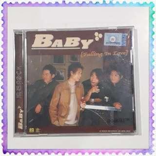 BABY Falling In Love CD Album 滚石唱片专辑
