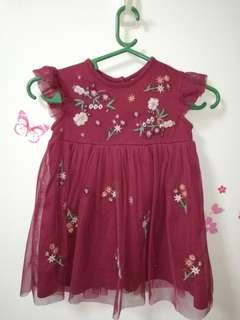 Baby Embroider Formal Dress