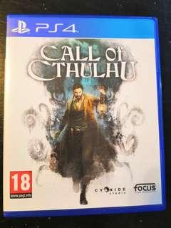 PS4 Used Game Call Of Cthulhu