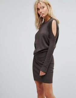 AllSaints Reya Sweater Dress
