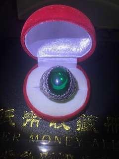 Cincin Perak 925 padat saiz 30 free pos