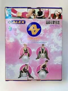 全新藍色 Alex 台灣製韻律球 Exercise Ball