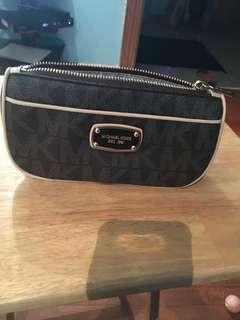 Michael Kors makeup or money card pouch
