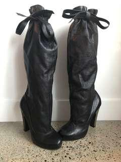 Marc by Marc Jacobs Slouch Leather Boots