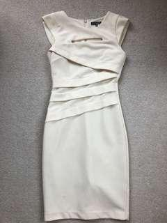 Sheike white dress size 8
