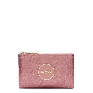 Mimco Small Shimmer Pouch Marshmallow