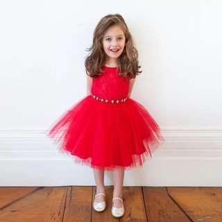 Instock Princess Dress CNY Red Dress
