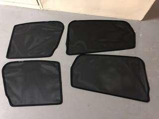 Original Magnetic Screen Sunshade for Honda Jazz Fit RS GK5