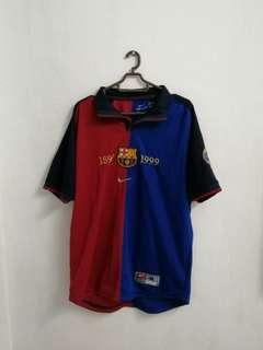 Barcelona 1999 Home Jersey