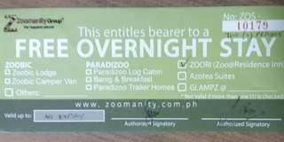 Overnight Stay for 2 at Zoo@Residence Inn, Subic