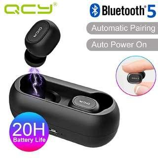 QCY T1C Bluetooth 5.0 Truly Wireless Bluetooth Earphones