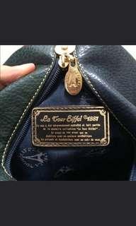 #JAN25 La Tour Eiffel 1881 vintage leather bag