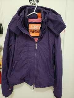 Superdry 紫色外套