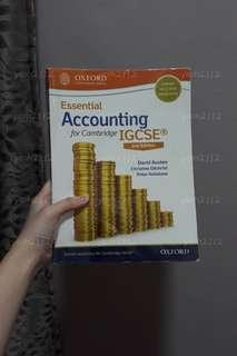 Accounting textbook / workbook for Cambridge IGCSE