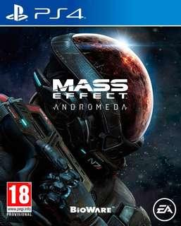 Mass Effect Andromeda PS4 (used)