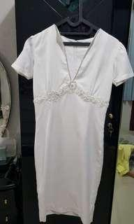 #JAN25 White dress