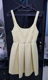 #JAN25 Zara Yellow Mini dress