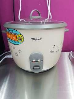 Toyomi Rice Cooker - used twice to cook pearls