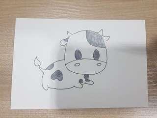 Big head cow