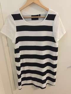Mink pink Tshirt dress