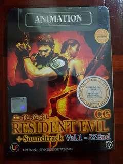 Resident Evil 5 CG + Soundtrack Vol 1-53end
