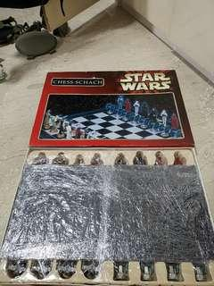 Star wars chess set 1995