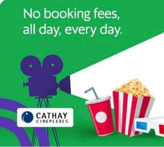 (No nego) 2 x $10 Cathay Tickets book thru me