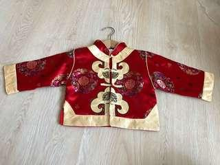Brand new Chinese New Year cny traditional Long sleeve shirt
