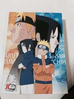 Naruto postcards 10th anniversary