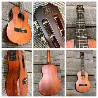 Usual $500 now $250 Full Solid Handcrafted Tenor Ukuleles